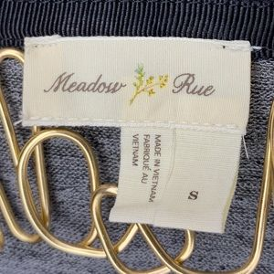 Anthropologie Sweaters - Anthropologie Meadow Rue Askew Gray Cardigan